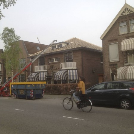 Bleekerdij te Dordrecht renoveren bitumen dak
